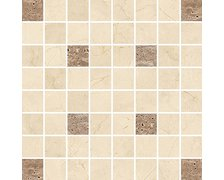 Opoczno Light marble beige mosaic square 29x29 cm OD636-019