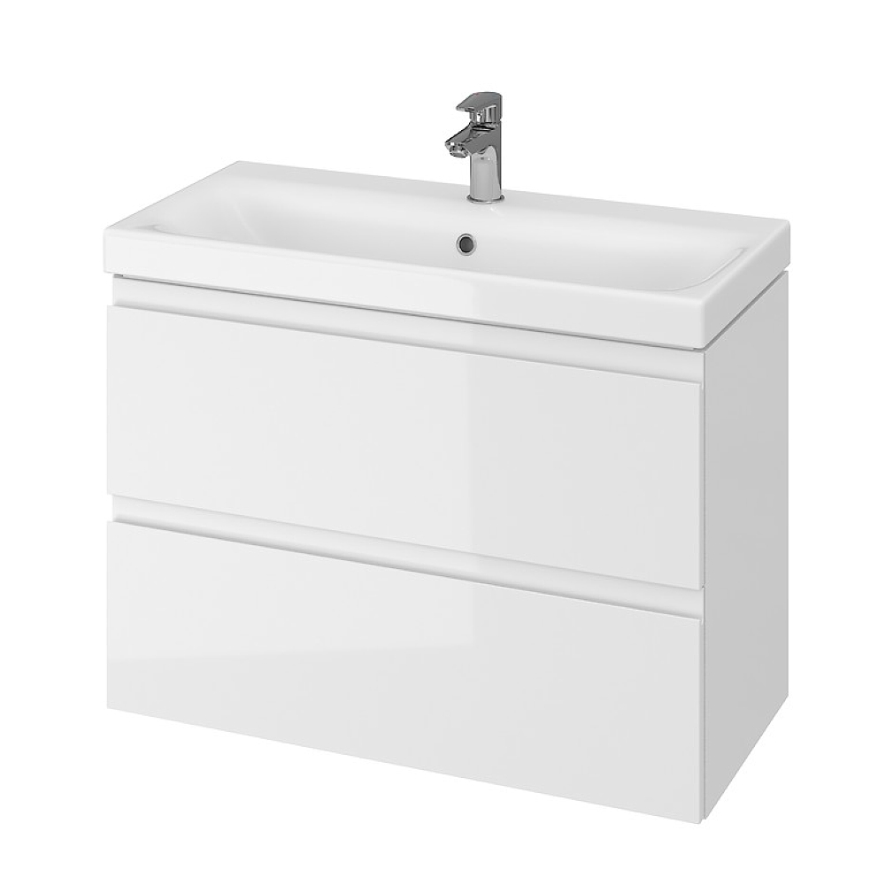 cf505d60cf0ca CERSANIT MODUO SLIM SET 80 skrinka pod umývadlo s umývadlom biela 80cm  S801-225. >