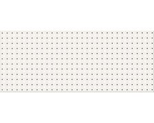 Opoczno BLACK and WHITE inserto pattern B 20x50 cm OP399-004-1
