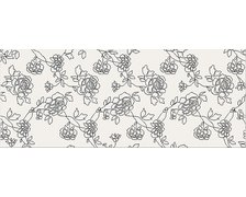 Opoczno BLACK and WHITE inserto pattern C 20x50 cm OP399-005-1
