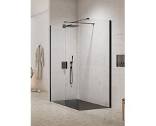 New Trendy NEW MODUS BLACK WALK-IN 160 x 100 x 200 cm EXK-1300