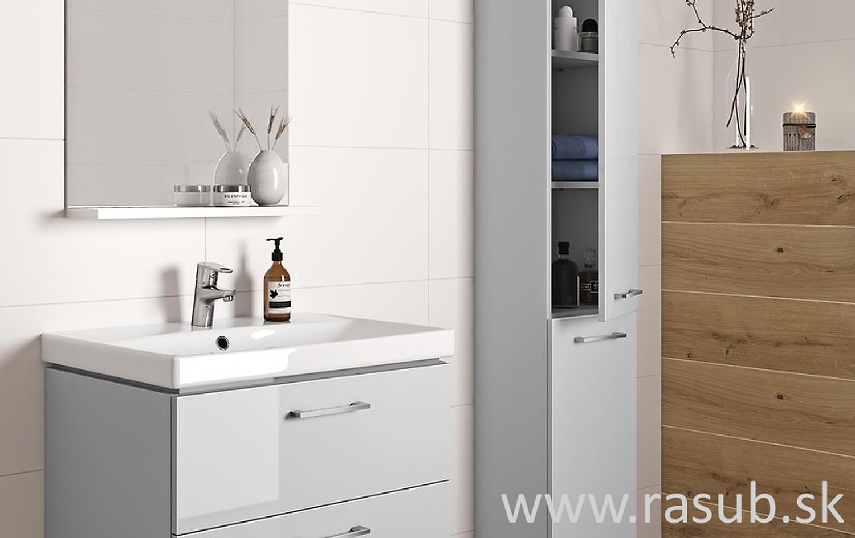 a47620daa1106 LARA je séria kúpeľňových zostáv pozostávajúca z umývadla a skrinky pod  umývadlom. Je to pohodlné riešenie pre každého, kto hľadá hotové, ...
