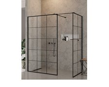 New Trendy NEW MODUS BLACK WALK-IN 140 x 100 x 200 cm EXK-0111